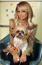 nicole richie honeychild  166 x 258  *******Celbrities who are Shi Tzu owners!!!******