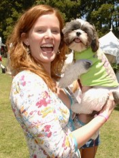 rebeccamader2  175 x 232  *******Celbrities who are Shi Tzu owners!!!******