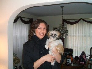 Kim and Benji Awwwww 300x225  Happy Shih Tzu puppy customers!!!